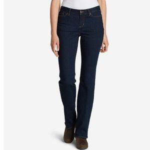 Eddie Bauer StayShape Curvy Bootcut jeans
